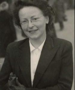 Brünhilde Pomsel 1950