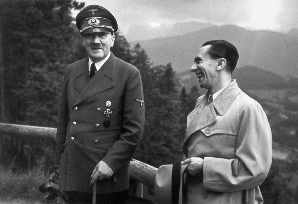 Hitler és Goebbels