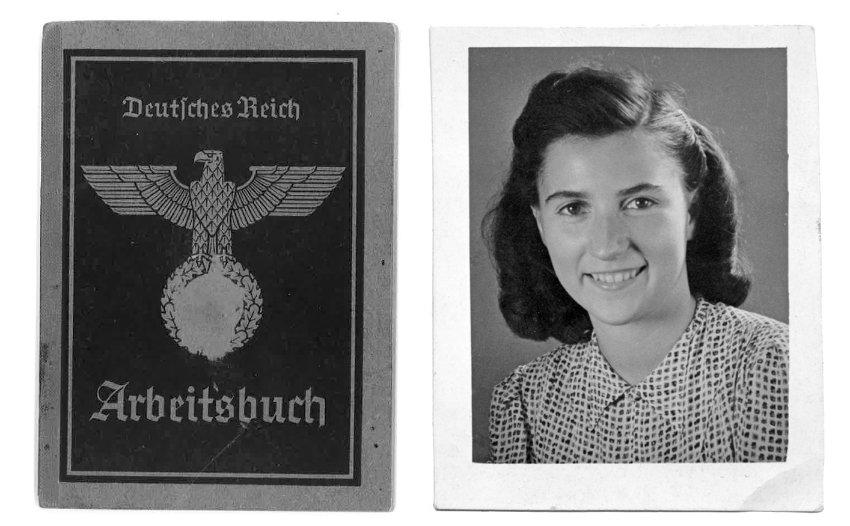Arbeitsbuch Vera Friedländer