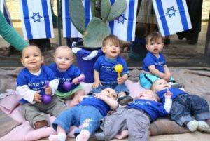 Újévi demográfia: Izrael Állam lakossága 8.585 millió fő