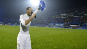 Usztasa köszöntéssel üdvözölték az izraeli labdarúgókat
