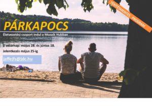 Párkapocs – életvezetési, párkapcsolati foglalkozások a Mozaik Hubban