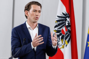 Sebastian Kurz: a leendő osztrák kormánykoalíció nem fogja tűrni az antiszemitizmust