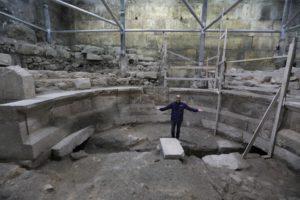 Római kori színházat találtak Jeruzsálemben a Siratófal mellett