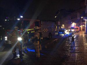 Göteborg: húszfős banda támadt a zsinagógára