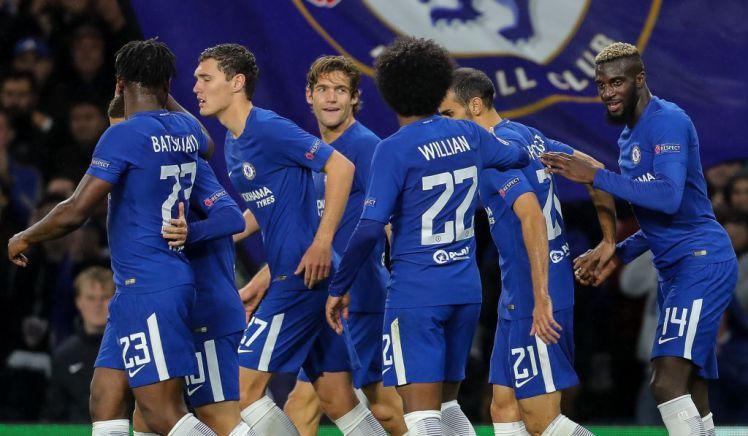 A Chelsea futballcsapata az antiszemitizmus ellen kampányol